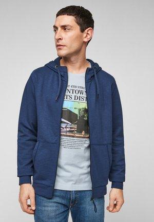 FELPA - veste en sweat zippée - blue