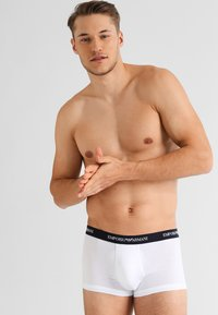 Emporio Armani - STRETCH TRUNK 3 PACK - Shorty - grey/black/white - 3