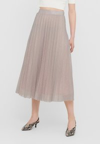 ONLY - Pleated skirt - Dusty Pink - 1