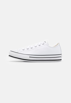 CHUCK TAYLOR ALL STAR PLATFORM  - Sneakersy niskie - white/black/egret