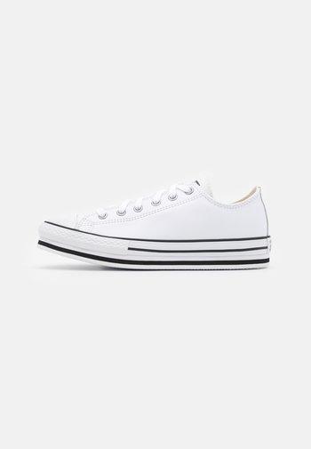 CHUCK TAYLOR ALL STAR PLATFORM  - Zapatillas - white/black/egret
