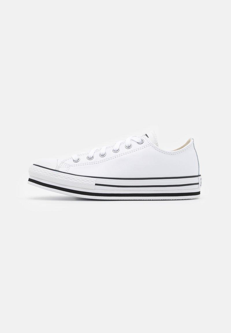 Converse - CHUCK TAYLOR ALL STAR PLATFORM  - Trainers - white/black/egret
