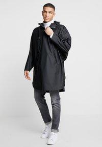 Rains - UNISEX PONCHO - Parka - black - 1
