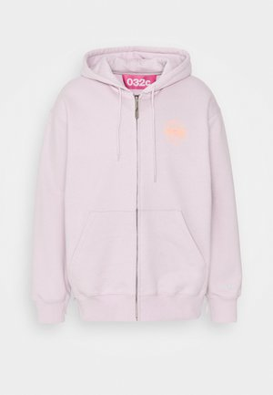 HYPNOS ZIP UP HOODIE - Mikina na zip - grey purple