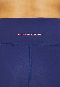 Tommy Sport - HIGHWAIST TRAINING LEGGING - Leggings - blue - 5