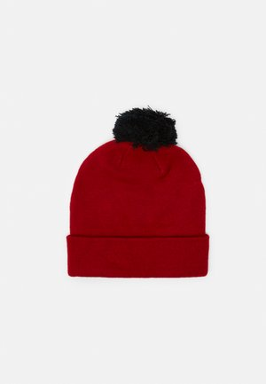 JUMPMAN CLASSICS POM BEANIE SET - Handschoenen - gym red/black