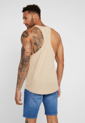 LOOSE TANK - Top - dust beige
