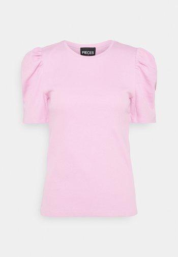 PCANNA - Basic T-shirt - pastel lavender