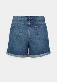 Noisy May Curve - NMSMILEY - Shorts di jeans - medium blue denim - 1