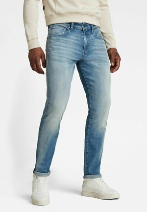 REVEND - Jeans Slim Fit -  light blue denim