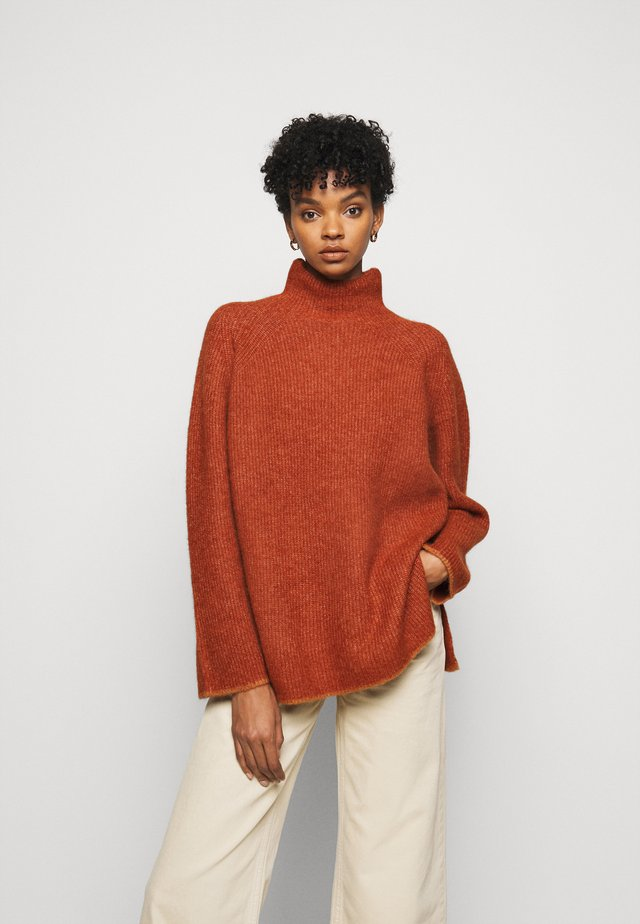 ELLISON - Pullover - rustic brown