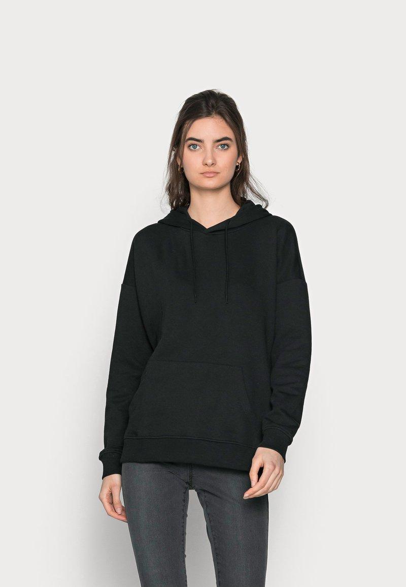 ONLY Tall - ONLFEEL LIFE HOOD - Sweatshirt - black