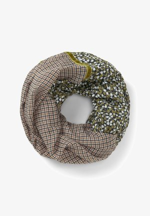 Snood - camel small check