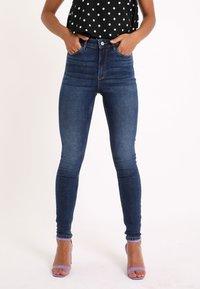 Pimkie - Jeans Skinny Fit - dunkelblau - 0