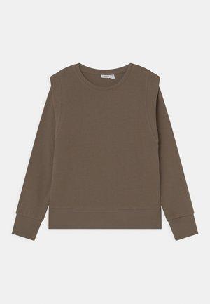 NKFLONNIE - Sweatshirt - stone gray