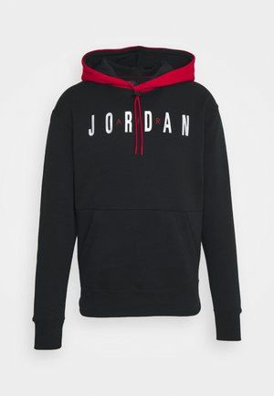JUMPMAN AIR - Felpa - black/gym red