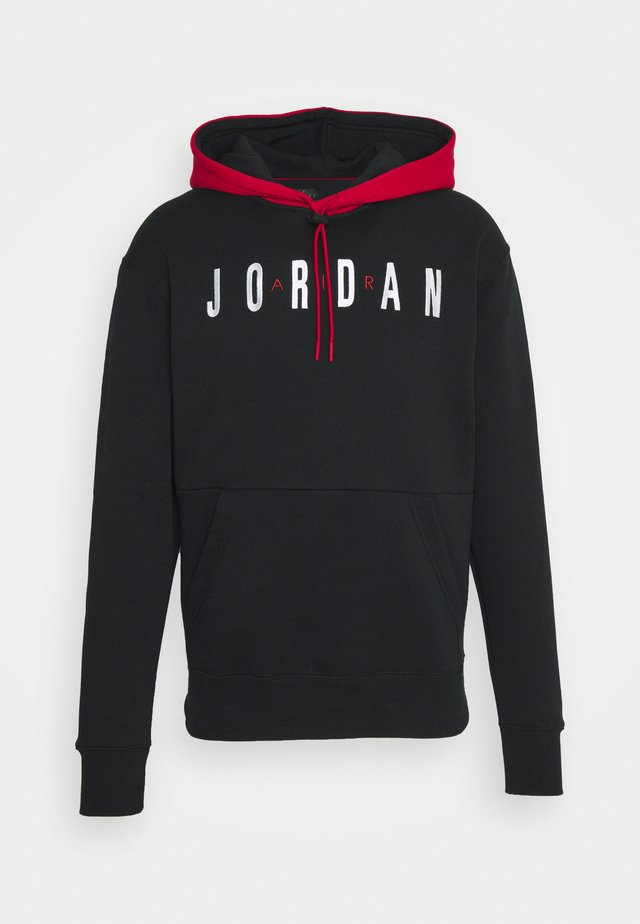 JUMPMAN AIR - Sweater - black/gym red