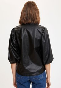 DeFacto - Button-down blouse - black - 2