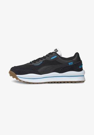 STYLE RIDER - Trainers - black-black-atomic blue