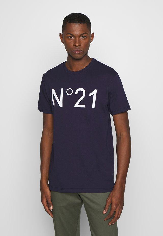 Camiseta estampada - bluette