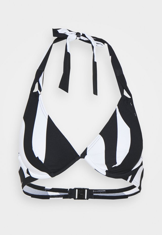 LIDO BEACH FLEXIWIRE - Bikinitop - black