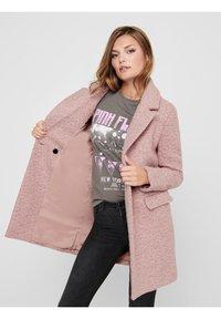 ONLY - Classic coat - burlwood - 3