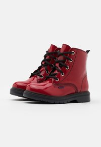 Richter - PRISMA - Lace-up ankle boots - rosso - 1