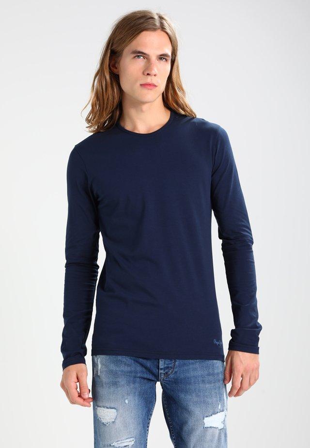 ORIGINAL BASIC - Camiseta de manga larga - navy