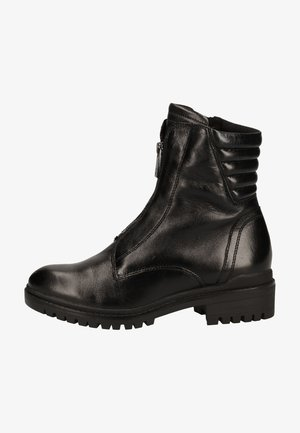 Bottines à plateau - black comb