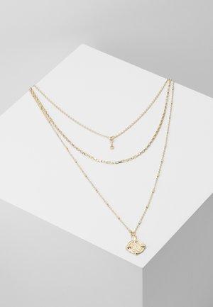 PCDORTHIE COMBI NECKLACE  - Smykke - gold-coloured