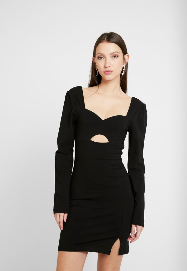 GIN GIN - Cocktail dress / Party dress - black
