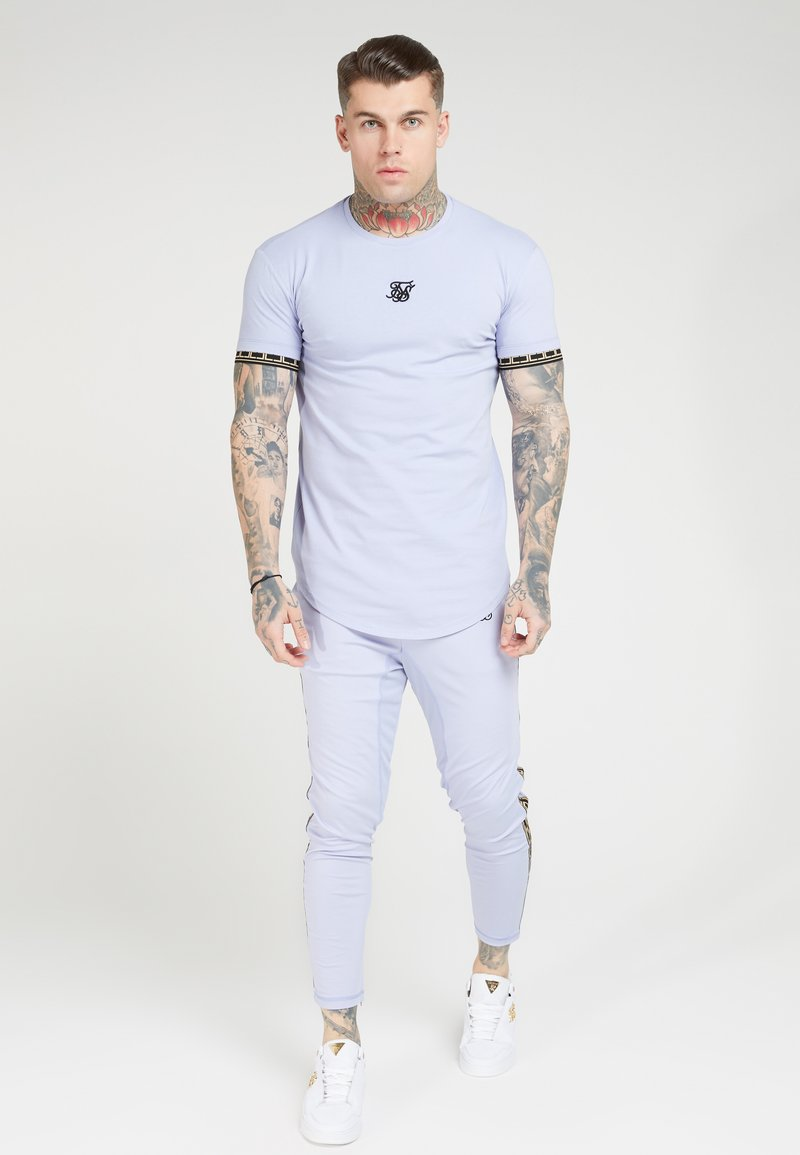 SIKSILK - SCOPE GYM TEE - Print T-shirt - dusky sky