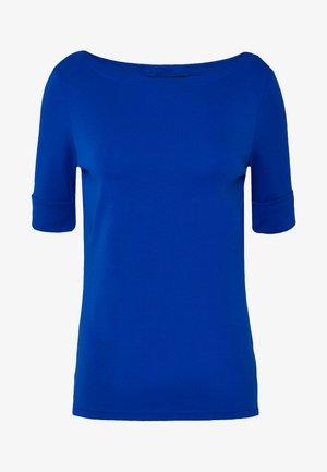 Print T-shirt - blue glacier