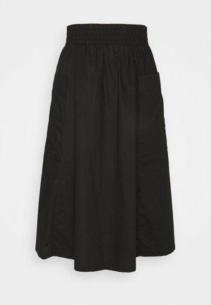 QIA SKIRT - A-line skjørt - black dark