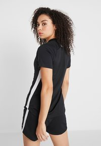Nike Performance - DRY ACADEMY 19 - T-shirts med print - black/white - 2