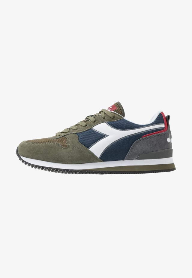 OLYMPIA UNISEX - Trainers - burnt olive green