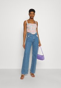 Missguided - TIE DYE CORSET - Top - pink - 1