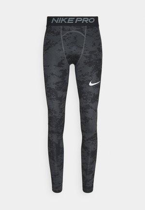 Leggings - iron grey/white