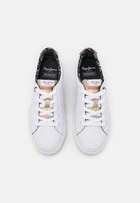 Pepe Jeans - KENTON PLAIN - Trainers - white - 5