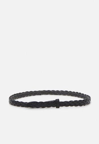 SARTA - Braided belt - schwarz