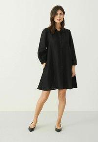 Part Two - ELAINAPW DR - Shirt dress - black - 1