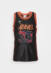 adidas Originals - TANK - Top - black/solred - 0