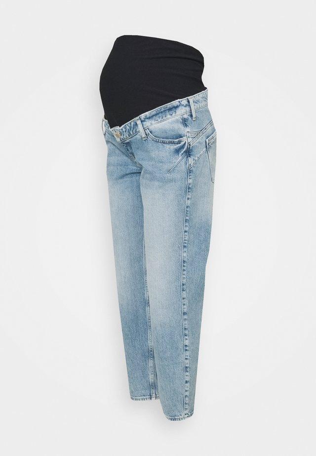 LIGHT MATERNITY COMFORT MOM - Jeans straight leg - light blue