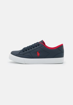 THERON - Sneakers - navy/red