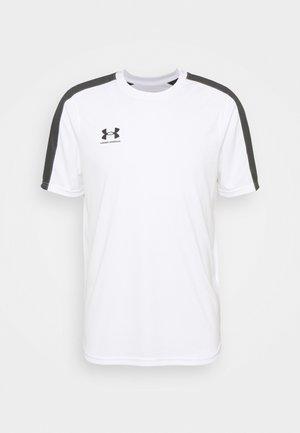 CHALLENGER TRAINING - T-shirt imprimé - white/jet gray