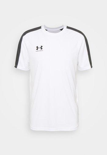 CHALLENGER TRAINING - Print T-shirt - white/jet gray