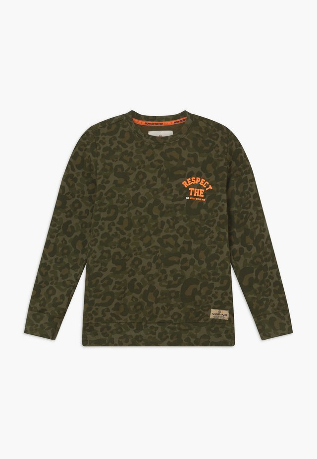 NAHUX - Sweater - amazon green