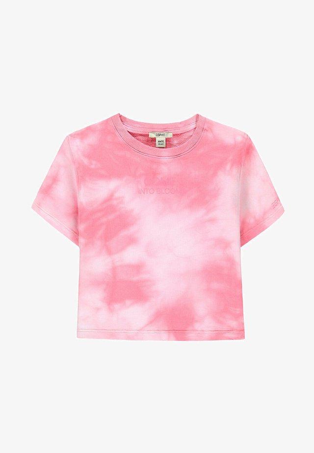 T-shirt print - blush