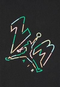Jordan - BRAND JUMPMAN AIR - Print T-shirt - black - 5