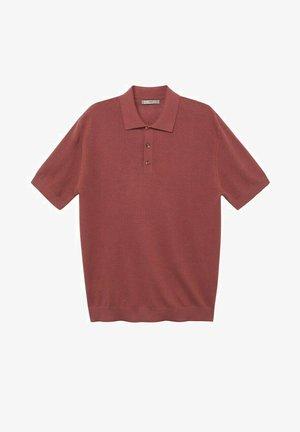 Koszulka polo - kersenrood